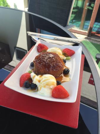 Coylton, UK: Sticky toffee pudding delight!!