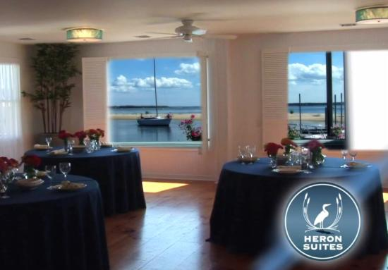 Heron Suites: Waterfront event space