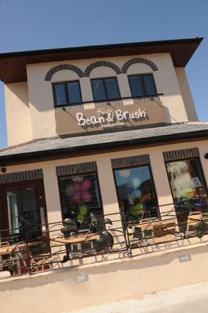 Bean & Brush Family Art Cafe