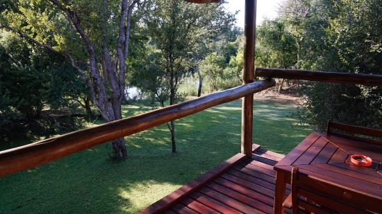 Blyde River Wilderness Lodge: Balkon