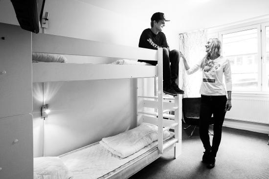 Slottsskogens Hostel : Room at the hostel (for 3 persons)