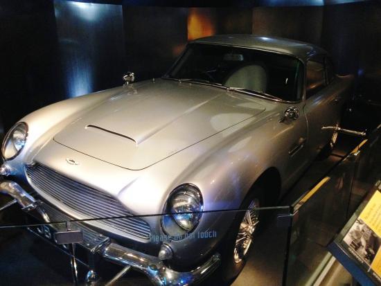 Bond Car Picture Of International Spy Museum Washington DC - Aston martin washington dc