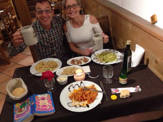 Osteria la Cantinota: We are lucky to find this Osteria without a guide. We returned for dinner the evening after our