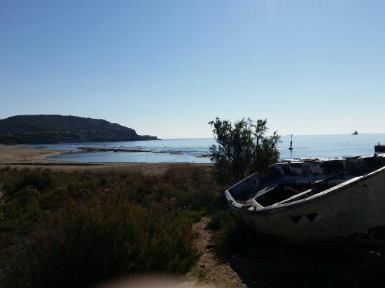 Sounio, Hellas: παραλία Χρηστέα