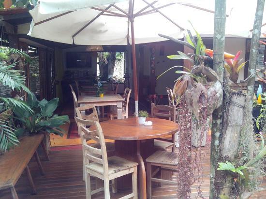 Pousada Riacho dos Cambucas: Área do café da manhã