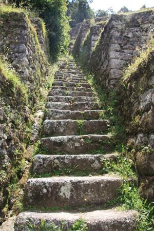 Machu Picchu Sun Gate Map