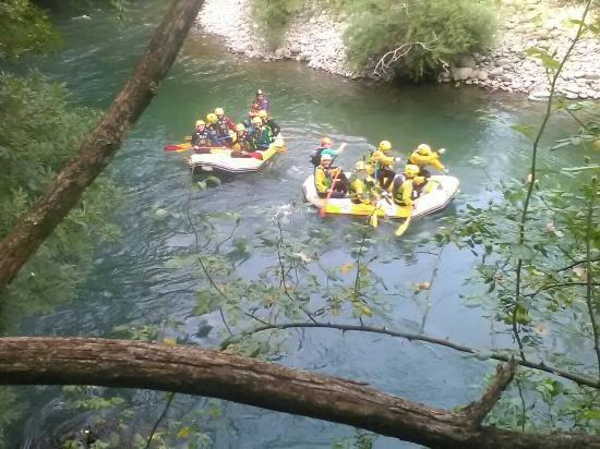 Discesa lungo la lima foto di rafting h2o bagni di - Rafting bagni di lucca ...