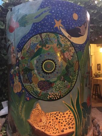 Hostel Candelaria : Nice artwork