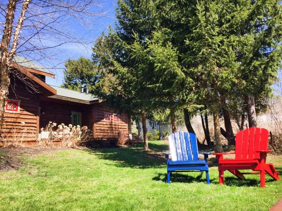 Finger Lakes Lodging: Backyard