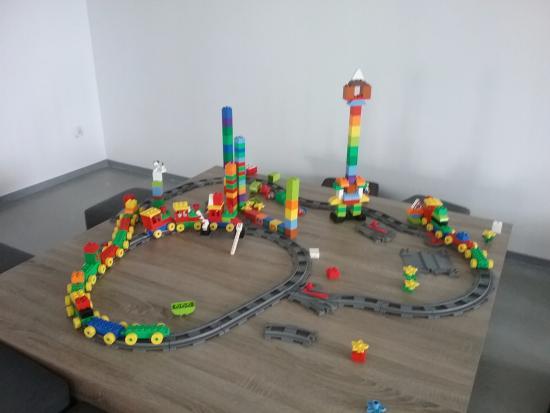Swarzewo, Poland: Lego do zabawy i samodzielnego budowania