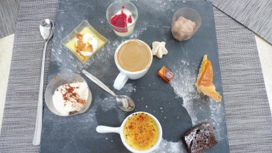 Haut-Rhin, France : café gourmand
