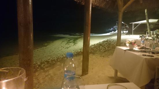 Palmar: petit aperçu de la plage de nuit