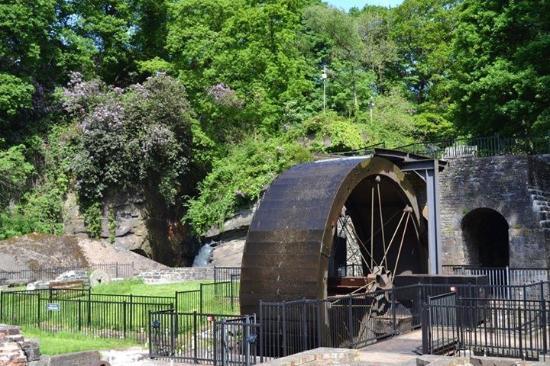 Aberdulais, UK: Tin mine