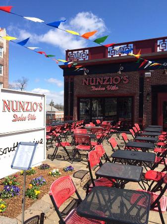 Morristown, NJ: Patio At Nunzio's Dolce Vita