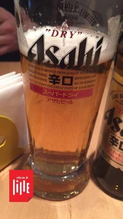 Moshi Moshi: bière japonais Asahi