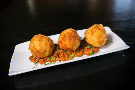 Morristown, NJ: Arancini (rice Balls) with Ragu`