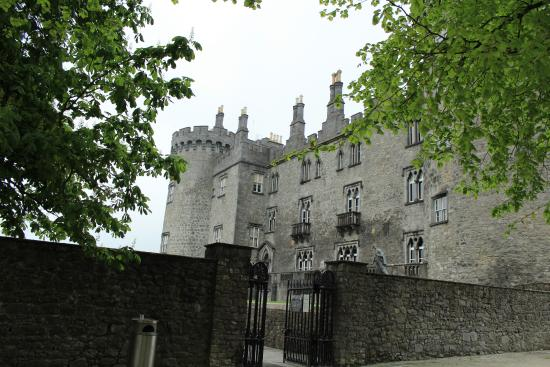 Kilkenny, Ireland: The back of the castle