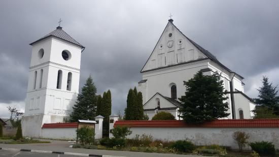Kosava, Belarus: Троицкий костел в Чернавчицах