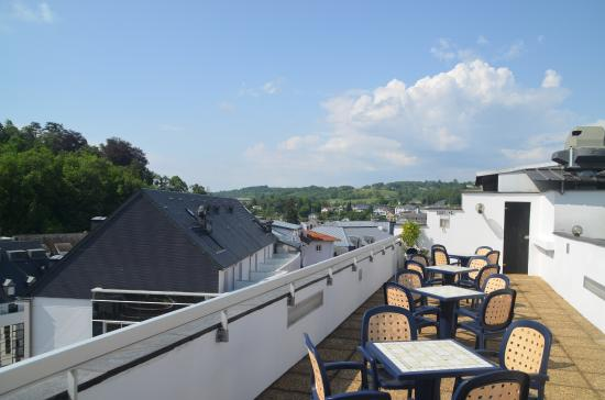 Hotel Florida: Checkout the 7th floor terrace for a great view