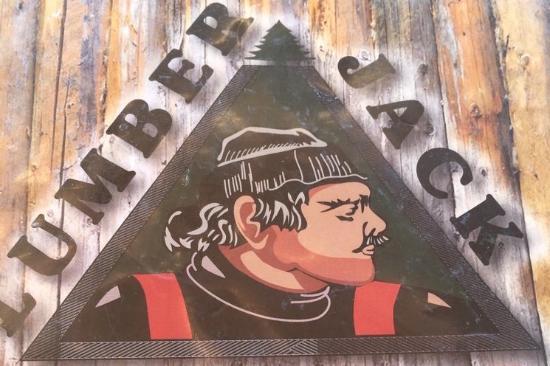 Big Bear City, Californien: Lumber Jack logo