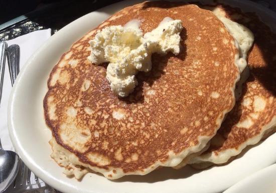 Big Bear City, Californien: Huge pancakes