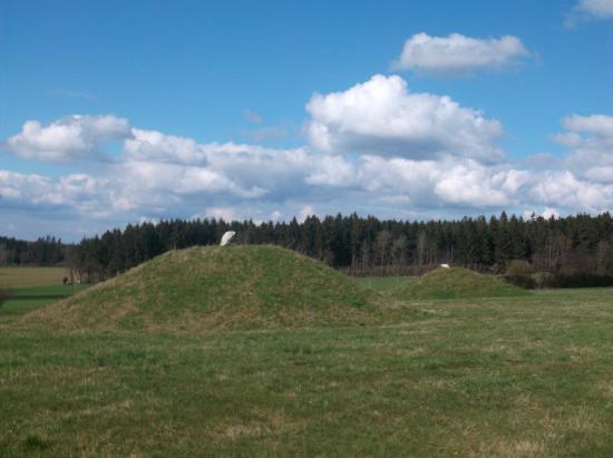Morbach, Germany: Das Außengelände mit den keltischen Gräbern