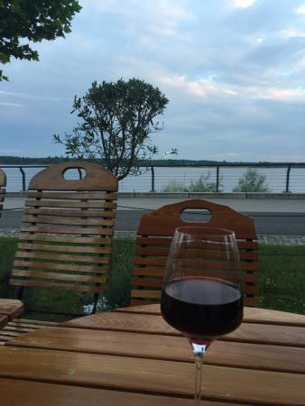 Марклеберг, Германия: Schöner Seeblick auch am Abend
