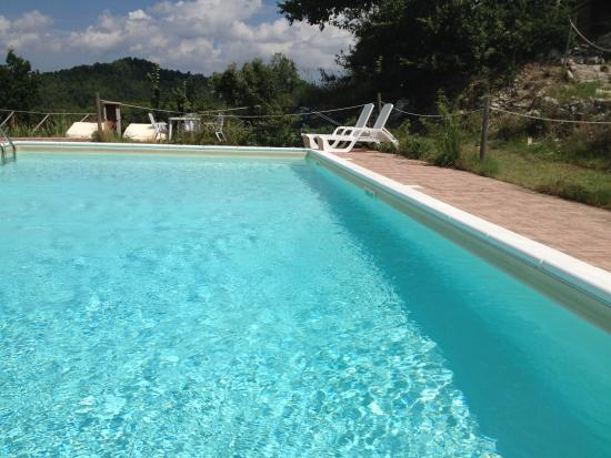La Locanda del Tempo : bordo piscina