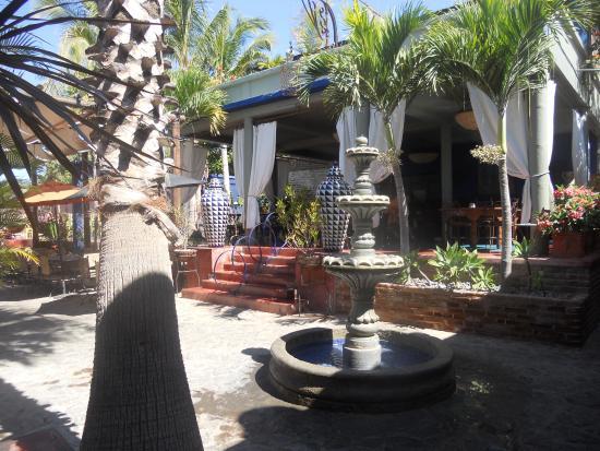 Τόδος Σάντος, Μεξικό: Patio interno Hotel California Todo Santos Mexico