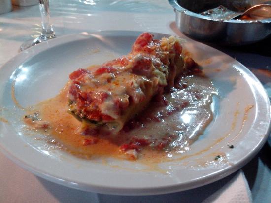 General Mansilla, Arjantin: canelones de espinaca ¡increíbles!