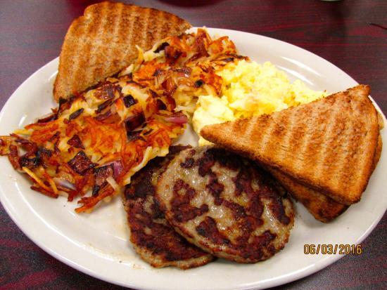 Top of the morning cafe : Breakfastt