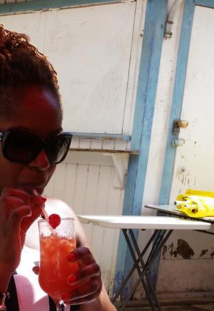 De Rock Beach Bar: Enjoying!!!��