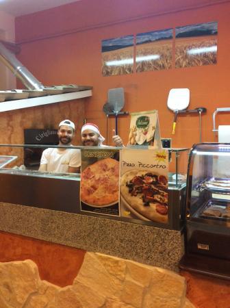 L'Artigiano della pizza : Matteo e Andrea simpaticissimi