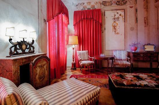 Vescovana, Италия: le camere  a disposizione degli ospiti di Villa Pisani Bolognesi Scalabrin. B&B da 1000 e una no