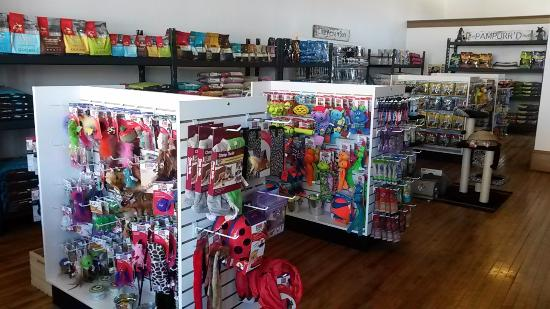 Oshkosh, WI: Inside of The Pampurrd Pet pet store