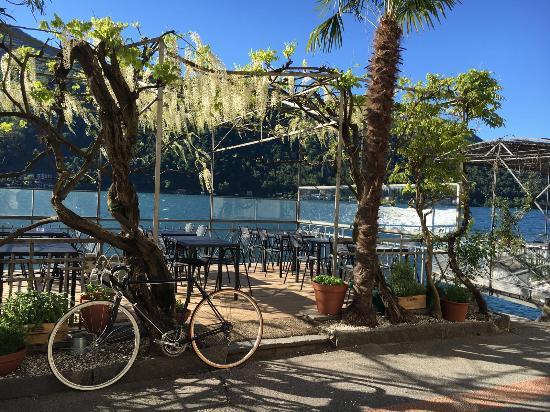 terrazza - Bild von La Terrazza sul Lago, Morcote - TripAdvisor