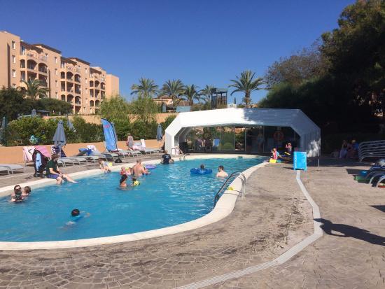 Holiday Village Majorca   Protur Monte Safari: Indoor Pool Has A Retractable  Roof