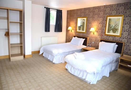 Swarkestone, UK: Twin room