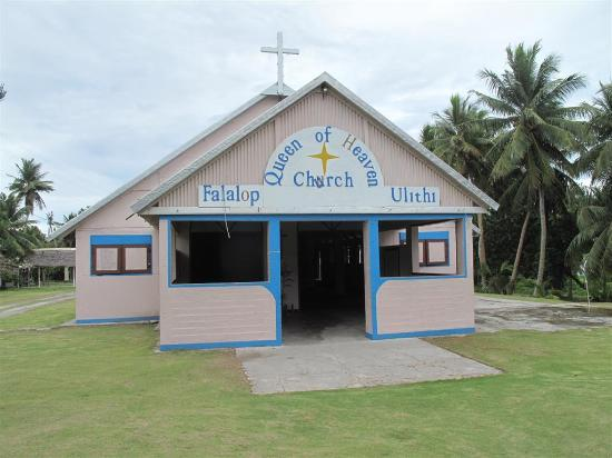 Queen of Heaven Catholic Church- Falalop Island