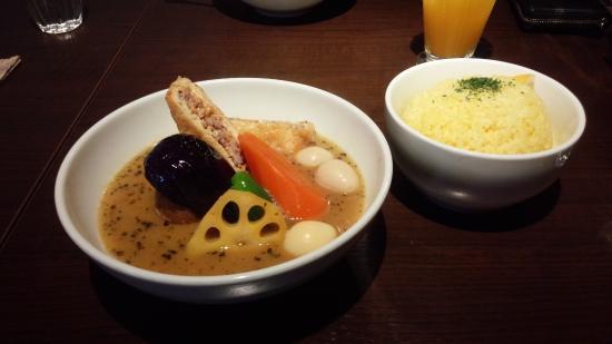 Curry Shop Sakura Brown