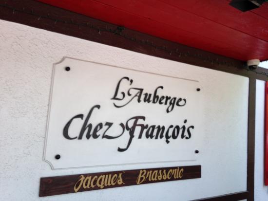 LAuberge Chez Francois Foto