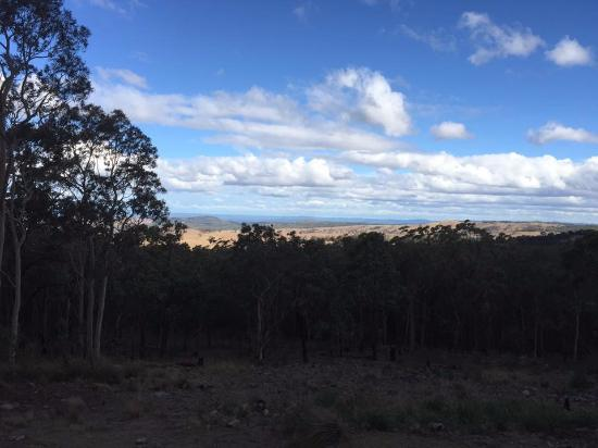 Vacy, Australia: View from Brumby's Lodge