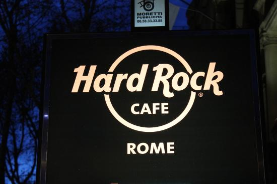 hard rock cafe roma picture of hard rock cafe rome rome. Black Bedroom Furniture Sets. Home Design Ideas