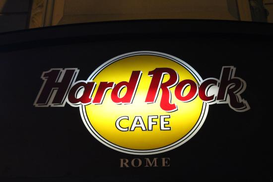 hard rock cafe roma bild von hard rock cafe rome rom. Black Bedroom Furniture Sets. Home Design Ideas