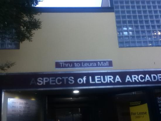 Leura Mall: 入口付近