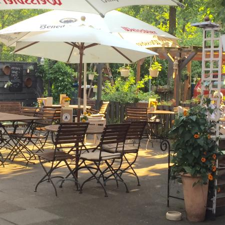 Bad Oldesloe, Germania: Unsere Gartenterrasse