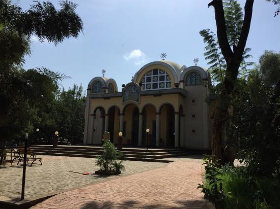 Bahir Dar, Etiopia: Shaded frontage