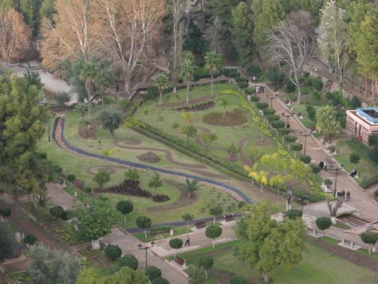 Beni Mellal, Marrocos: la vista dall'alto