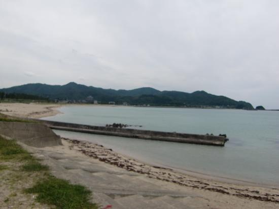 Hacchohama Kobama Beach: 静かな浜です