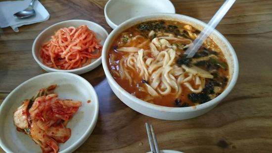 Hanseong Noodles Soup